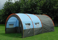 Family Camping Tents party tent - 10persons large family tent camping tent tunnel tent Hall room party tent