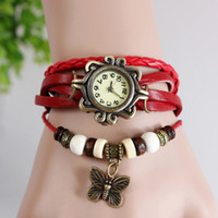 Cheap Casual Vintage watches Best Women's Auto Date Weave watches