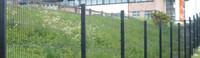 Wholesale Roadside and Residence Fence Strong Frame50 mm On the Top with Falt Iron