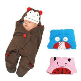 Wholesale Baby s animal shape outside traveling woolen cotton blanket KTJ O0047
