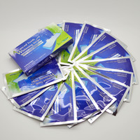 Wholesale Teeth Whitening Strips Dental Whitening Kit Enamel White so easy so fast Teeth strips Whitening Strips mint favor pc per box