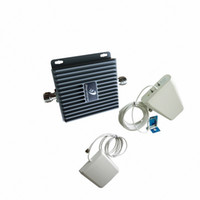 Wholesale 500Sqm Home GSM Mobile amplifier G MHz Cell Phone Signal Booster Repeater antennas