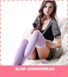 Wholesale High quality hot sale Japan Slifa D Lower Shapewear Leggings Calf Slimming Sleep Over Knee pairs