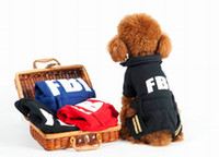 Wholesale New Dog Apparel Fashion Cute Dog Vest Pet sweater Shirt Soft Coat Jacket Autumn amp Winter Clothes