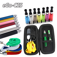 EGo- CE5 Electronic Cigarette Starter Kits Zipper Case with N...