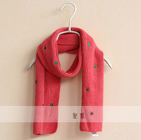 Girls knitted cashmere scarf - Cashmere Scarf Kids Neckerchief Children s Accessories Cute Knitted Scarves Fashion Autumn And Winter Scarf Long Neckerchief Girls Scarves