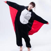 bats order - Adult Cartoon Animal Bat Onesies Onesie Pajamas Kigurumi Jumpsuit Hoodies Sleepwear for Adults Order Welcomed