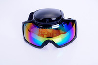 Wholesale HD p Ski Sport Glasses Snowboard Skate Video Camera Ski Goggles Sunglasses video recorder lense
