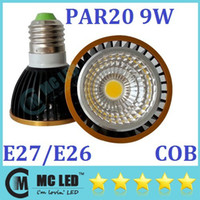 Wholesale Brand New COB PAR20 Dimmable Led Spotlights Lumens W E27 E26 GU10 Warm Cool White Led Bulbs Light V CE UL CSA