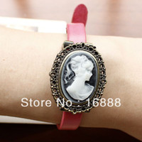 Wholesale watches for women hot sale Vintage Wristwatch Genuine Cow Leather watches ladies fashion