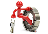 Wholesale Wall Climbing Boy Magnetic Key Holder Magnetic Climbing Man Key Holder Fridge Magnets colors availlable