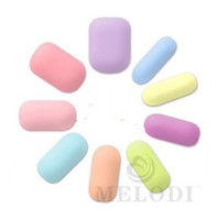 Wholesale Melodi candy solid color series finger sticker nail polish oil film eco friendly maternity pure color