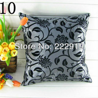 Wholesale cheap pillow covers pieces grey and black cushion cover european stylepillow covers for sofa