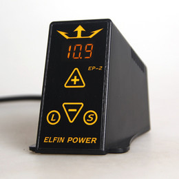 Wholesale Dual Digital LCD Tattoo Power Supply Power For Professional Tattoo Machine Kits Pop