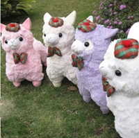 Unisex stuffed animal pillows - England Alpacasso Stuffed Plush Fabric Alpaca amp Camelid Horse Fabric Animal amp Doll amp Toy amp Pillow for Girls Child