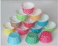 Wholesale 100pcs mixed mini size paper cupcake liner muffin case cake case cake tool party decoration tool