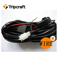 Wholesale High quality LED wrok light relay wiring harness Metter suit for LED working lights bar lights with connectors