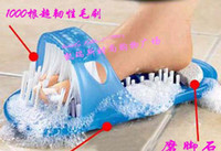 Wholesale High quality New Easyfeet Easy Feet Foot Scrubber Brush Massager Clean Bathroom