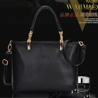 Wholesale 2014 New Genuine Leather Shoulder Bag Euro Fashion Cowhide Totes Sling Bag Women Leather Handbags Hobo Bag YB1162