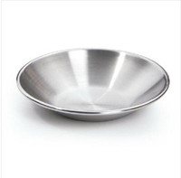 Wholesale Stainless steel soy sauce dish ceremoniously condiment dish caidie small dish