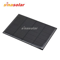 Wholesale 6V mA High Efficiency Monocrystalline Solar Cell for electronic DIY x69 mm W