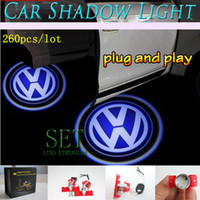 Wholesale Plug and Play D Shadow Light car LED Welcome Lights Ghost Light W Car Door Led Laser Welcome Projector Light For BMW AUDI