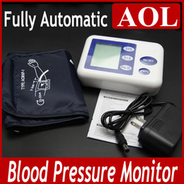 Wholesale Promotion New Fully Automatic Professional Arm Blood Pressure Monitor Health Care for Blood Pressure for gifts