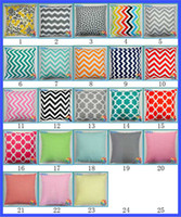 Wholesale Super Chevron Printing Cases Cushion Pillow Covers Many Style DHL Free