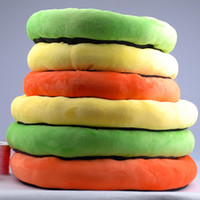 Wholesale High Quality and Soft Small Size Pet Cushion Bright Colors Thick Pet Nest CW031