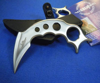 Wholesale New United Hibben Claw II Fixed Full Tang Karambit Bowie Clip w Sheath Camping survival tactical knives kampilan kinfe