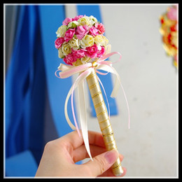 Wholesale Wedding Pen for Guest Book using Signature pen golden marker pen rose ball paint pen wedding sign pen thin Beautiful hot selling new