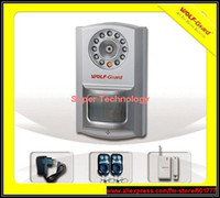 Wholesale GSM GPRS DVR camera alarm system zones support Home Security CCTV Alarm PIR MMS GSM alarm Camera DVR