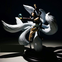 Wholesale League of Legends LOL Nine Tailed Fox Ahri action figure retail