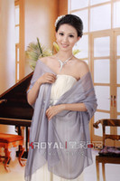 Ho sale Cheap Bridal Organza Shawl Jacket Bride Bridesmaids ...