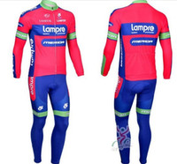 Wholesale new men s hot pink team cycling jersey ciclismo pants bicycle wear long sleeve pants cycling clothing