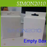 For Apple iPhone apple empty box - Retail Package Packaging Box For pin USB Charging Charger Data Cable Cord iPhone g cable Boxes Empty White