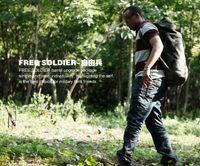 Wholesale 1pcs New Outdoor Climbing bag military canvas backpack barrels bag Army green black khaki