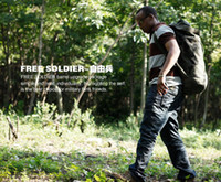 Men barrel duffel bag - Outdoor Climbing bag military canvas backpack barrels bag Army green black khaki