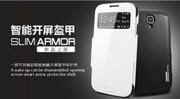 Samsung Galaxy s4 i9500   S4 mini i9190   i9508 cover leather intelligent opening awake screen