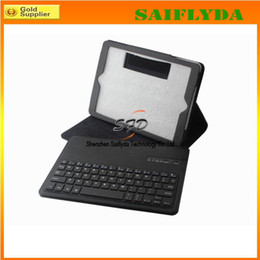 Wholesale 4 colors Removable Wireless Bluetooth pc Keyboard Case Cover Stand for New Apple iPad Air iPad