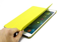 Smart Cover/Screen Cover apples mail - case for ipad air Ultra Slim Leather Case Cover for ipad air leather Smart case for ipad air case Sleep Wake up Retail Free air mail
