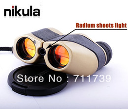 Wholesale WYJ Mini LLL night vision x With Radium shoots light mini Binocular Telescope m m NEW