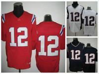 Cheap Football American football jerseys Best Men Short Tom Brady Jersey