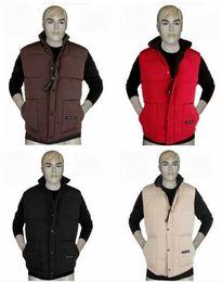 Wholesale 2014 Fashion Men s jacket Goose Down jacket men Down vest Warm warm upset cotton clothes Men s Coat Outerwea XMAS gift XS XXL