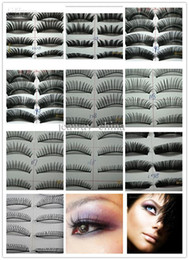 Wholesale 10 Set Pairs in a SET Natural OR Thick Fake False Eyelashes STYLES mix style or CHOICE