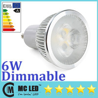 Wholesale GU10 W Led Spotlights Bulb Angle Lumens Warm Natural Cool White x2W Dimmable Led Lights V High Power
