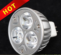 Wholesale Red Color W MR16 GU10 E27 LED Spot Light Bulb Spotlight Lamp V Year Warrant
