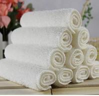 Wholesale Small Bamboo Towels Super Soft Fiber Towel Hand Face Kitchen Bathroom Kids Cloths Dish Wash Towels Not contaminated with oil Towel