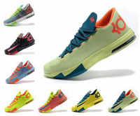 Wholesale Kevin Durant VI KD Mens Basketball Shoes Air Sneaker Size Many Colors