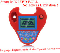 Wholesale New MINI Style Zedbull Smart Zed Bull No Tokens Limitation Key Programmer Mini Zed Bull Transponder Key Clone Tool Free DHL FEDEX Shipping